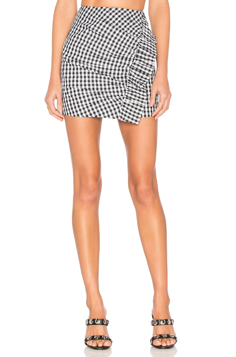Lovers + Friends x REVOLVE Lisa Skirt in Gingham