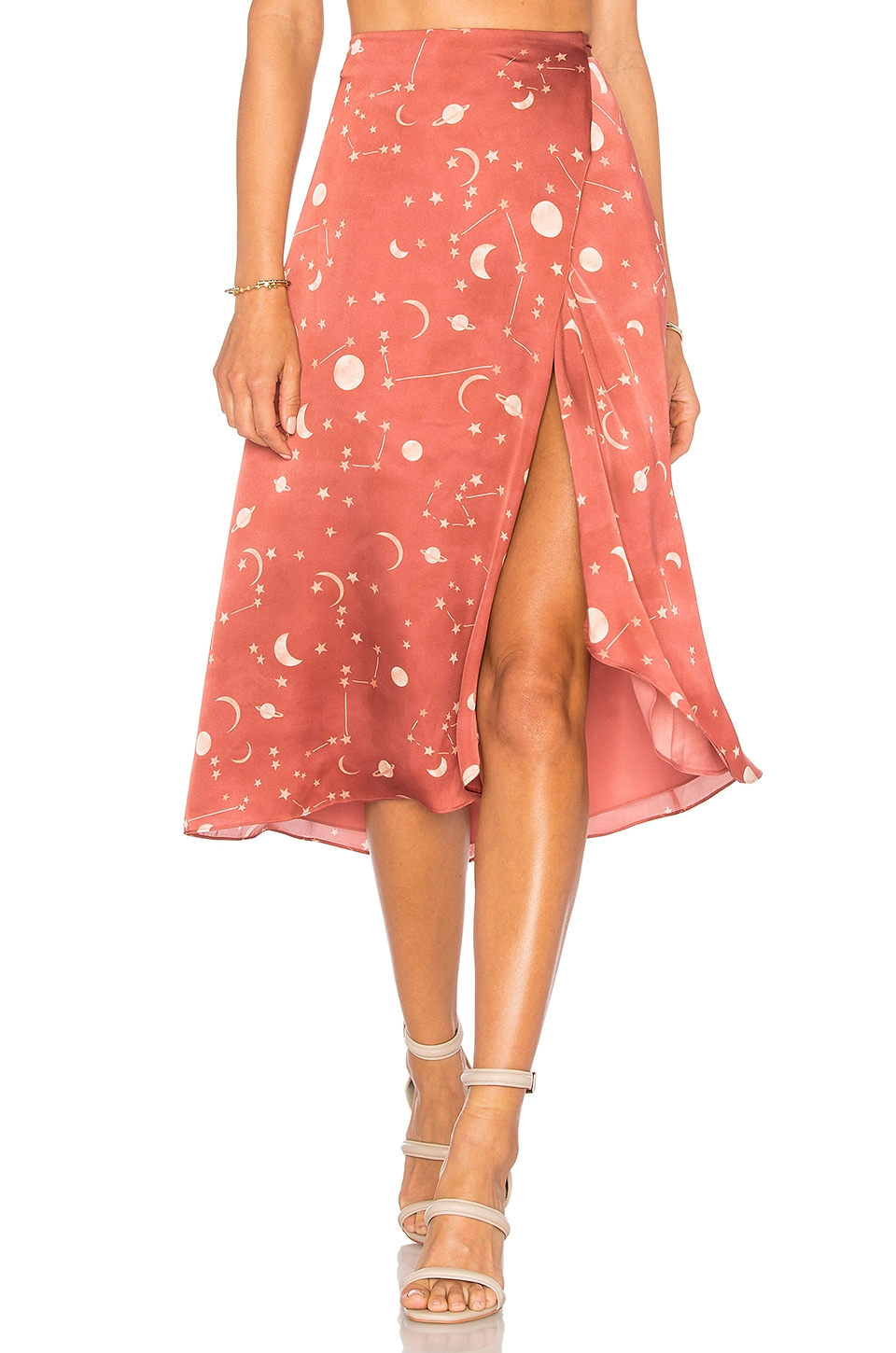 Lovers + Friends x REVOLVE Margarita Midi Skirt in Constellation Print