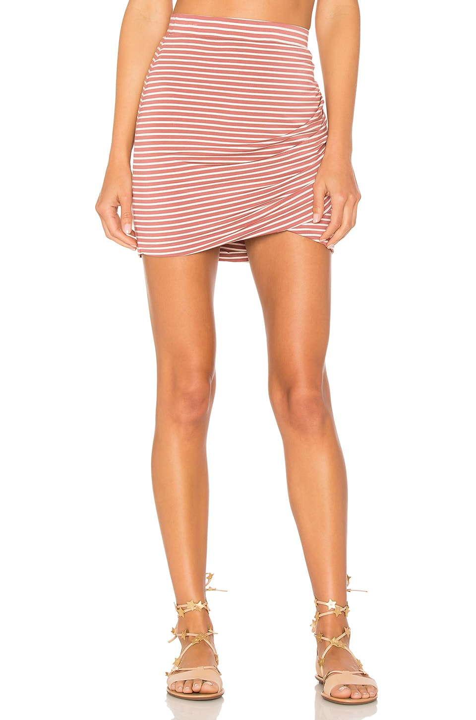 Lovers + Friends Voyage Skirt in Sand