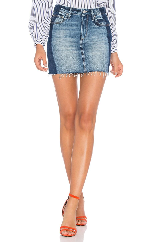 Lovers + Friends Elijah Mini Skirt in Del Ray