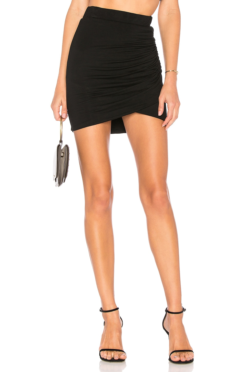 Lovers + Friends Voyage Skirt in Black