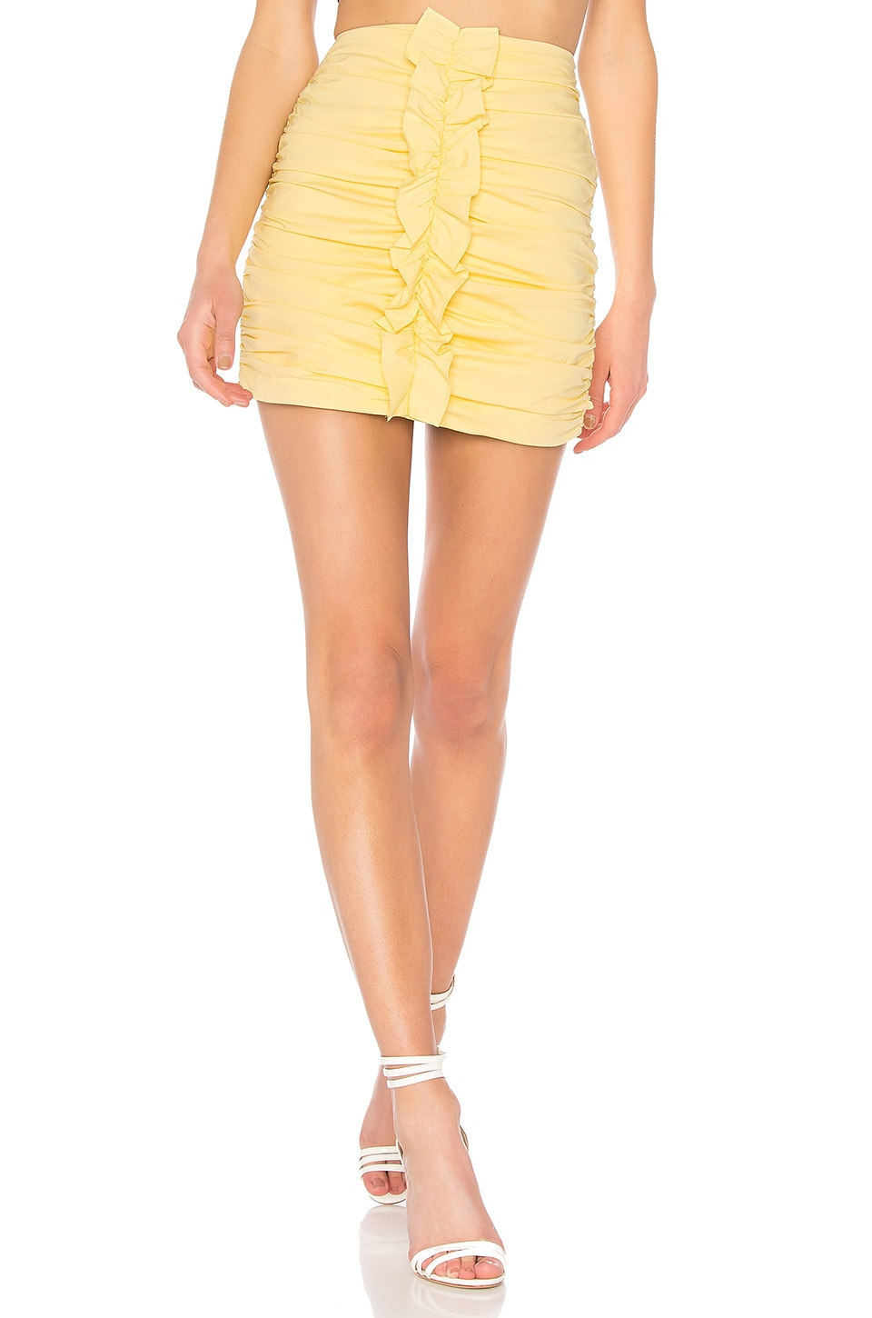 Lovers + Friends Bartlet Skirt in Daffodil