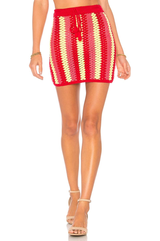 Lovers + Friends Sunray Skirt in Multi