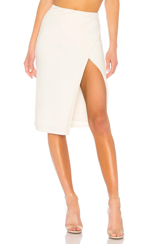 Lovers + Friends Liana Skirt in White
