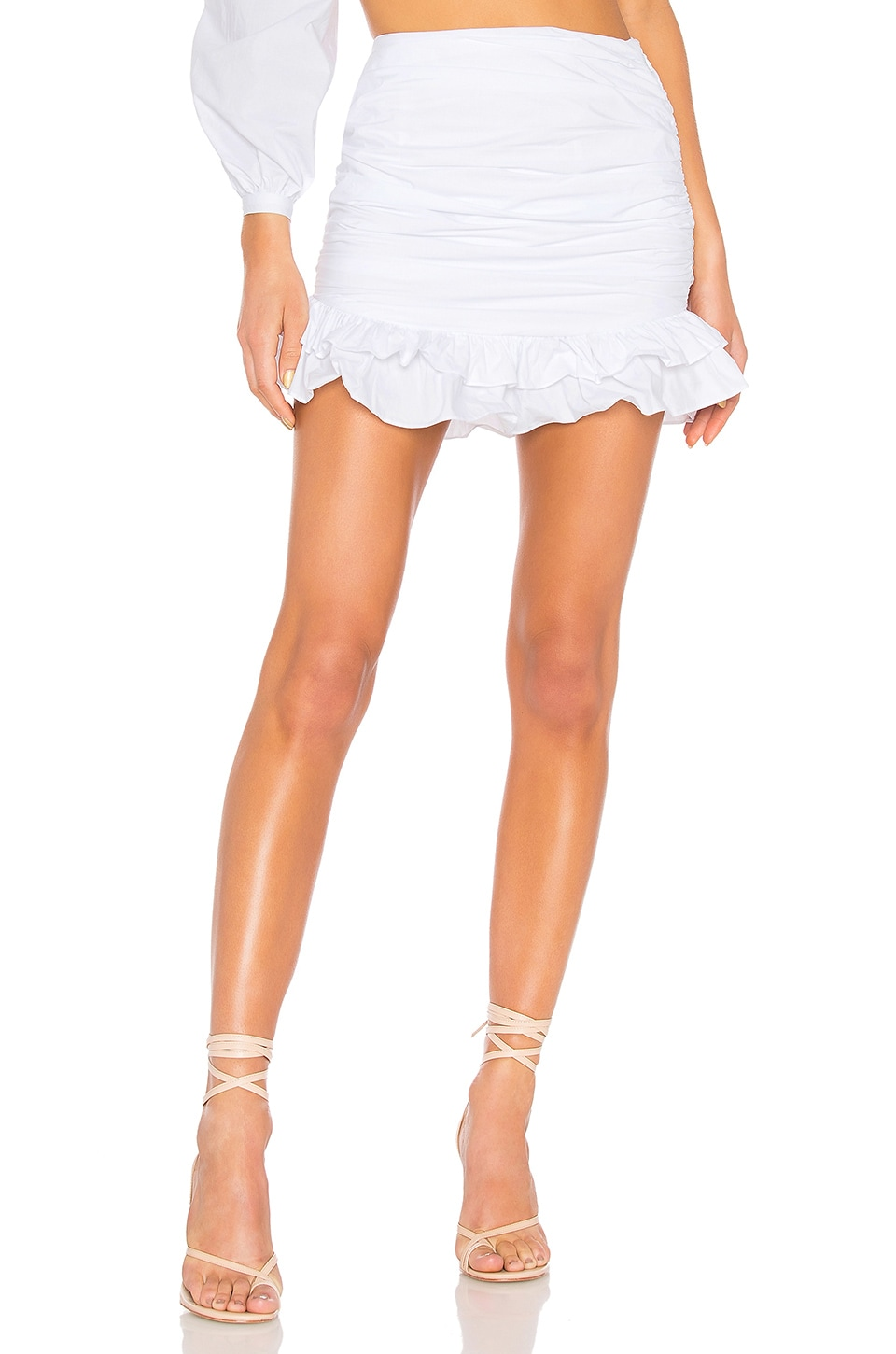 Lovers + Friends Brooke Skirt in White