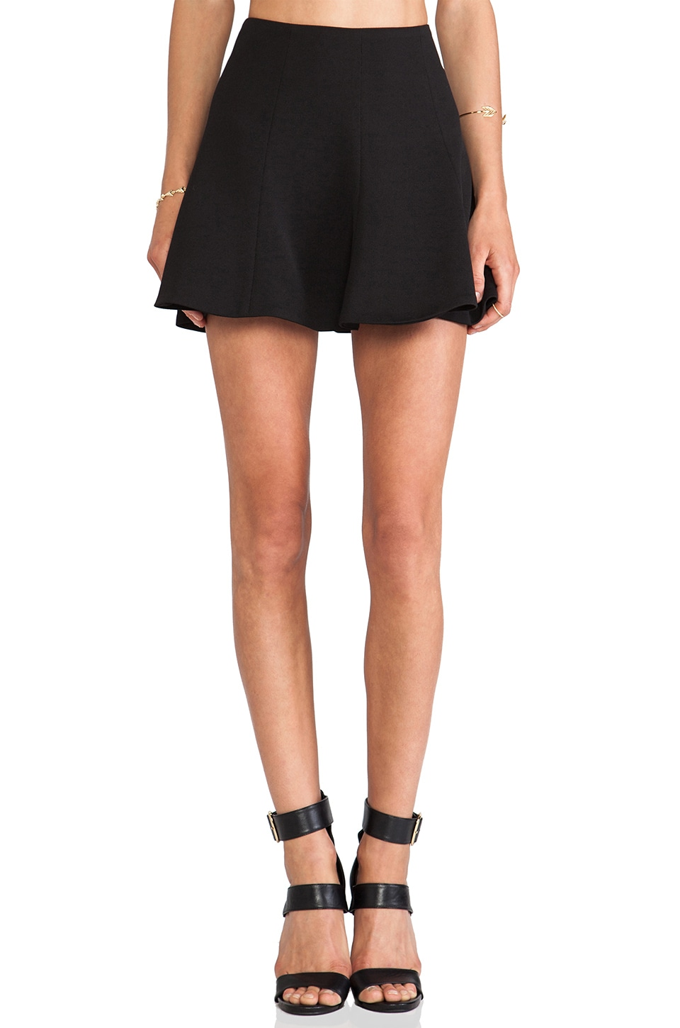 Lovers + Friends Tatum Skirt in Black