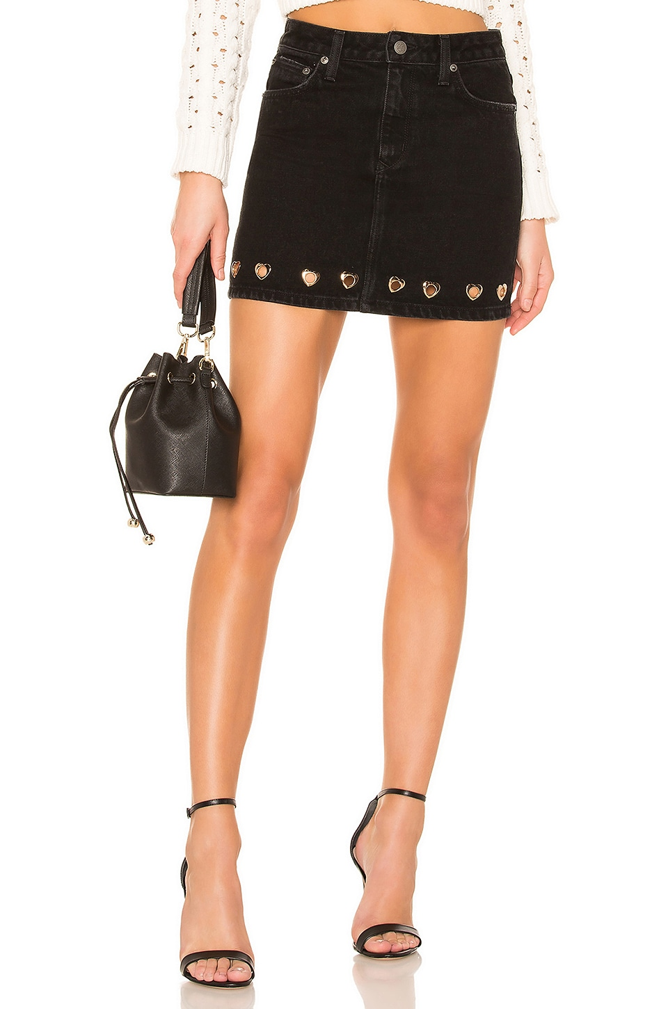 Lovers + Friends Elijah Mini Skirt in Palisade