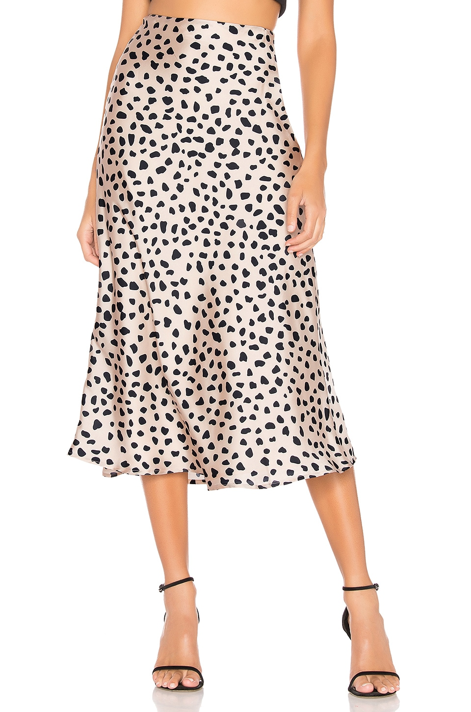 Lovers + Friends Madalena Midi Skirt in Mara Print