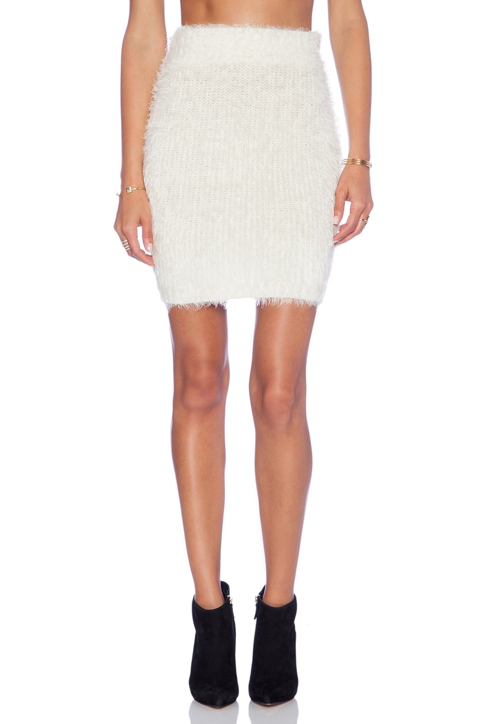 Lovers + Friends x REVOLVE Dolly Skirt in Ivory