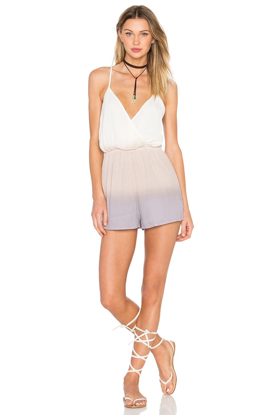 Lovers + Friends x REVOLVE Charmed Romper in Pastel Ombre