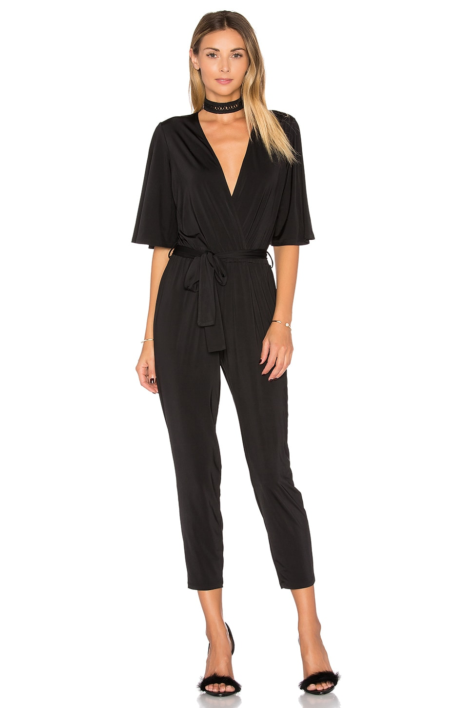 Lovers + Friends Kylie Jumpsuit in Black