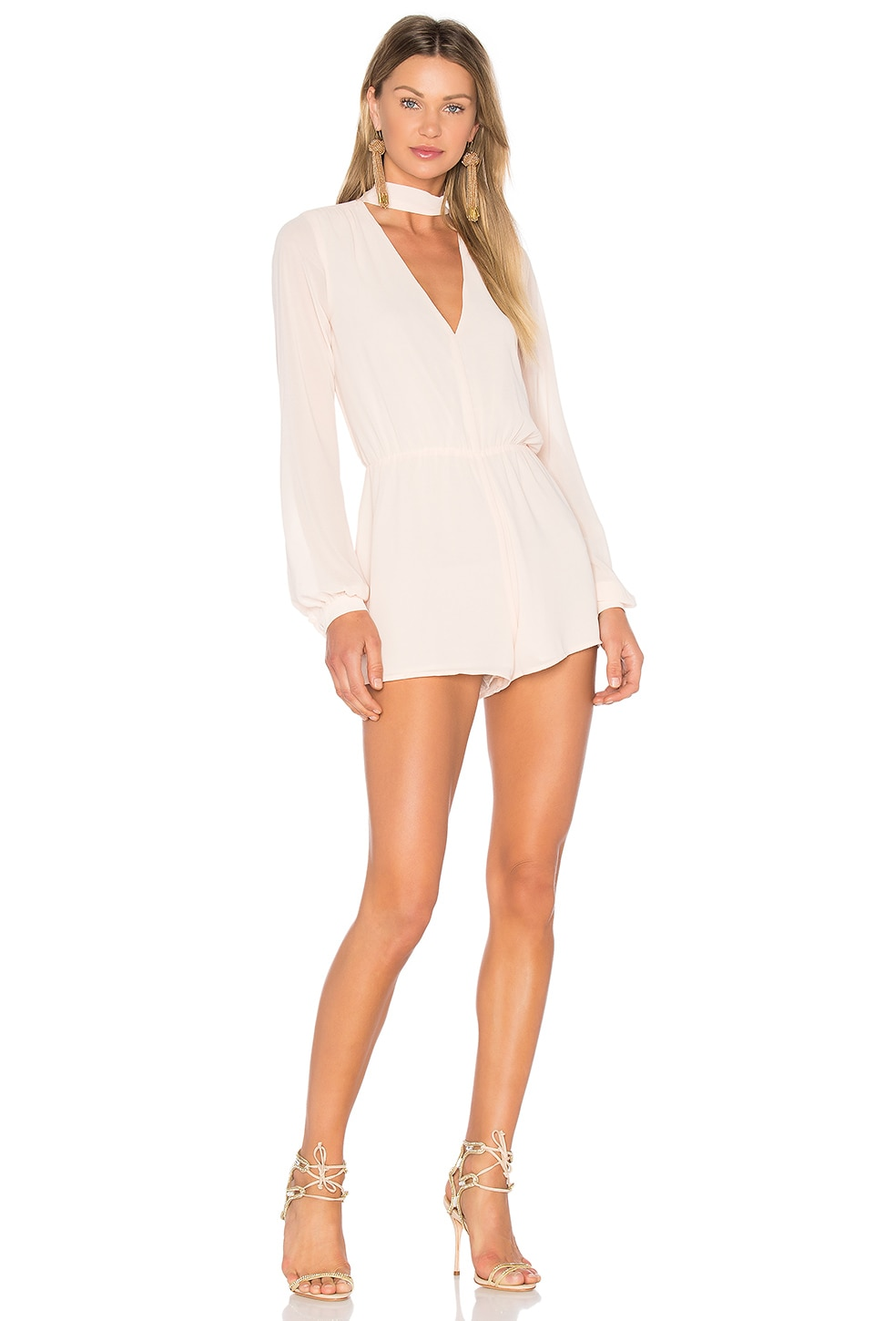Lovers + Friends x REVOLVE Taylor Romper in Blush