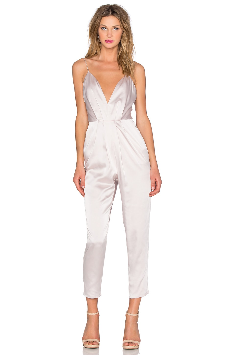 Lovers + Friends x REVOLVE My Way Jumpsuit in Champagne Pink