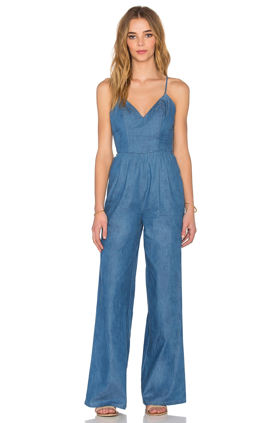 Lovers + Friends Cypress Jumpsuit in Lagoon Blue