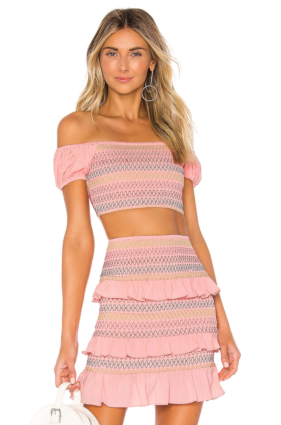Lovers + Friends Kora Top in Pink Lemonade