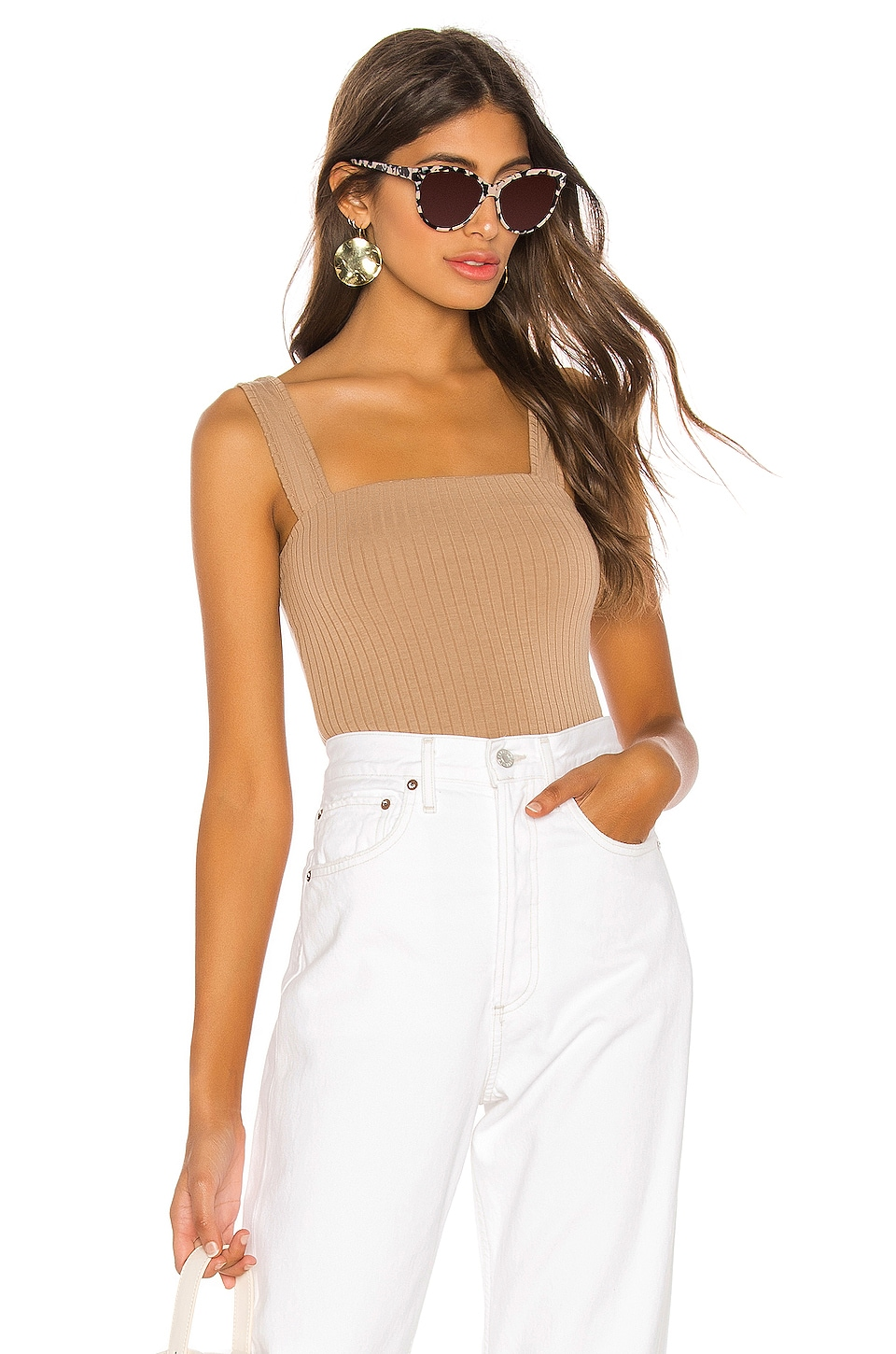 Lovers + Friends Sol Top in Taupe