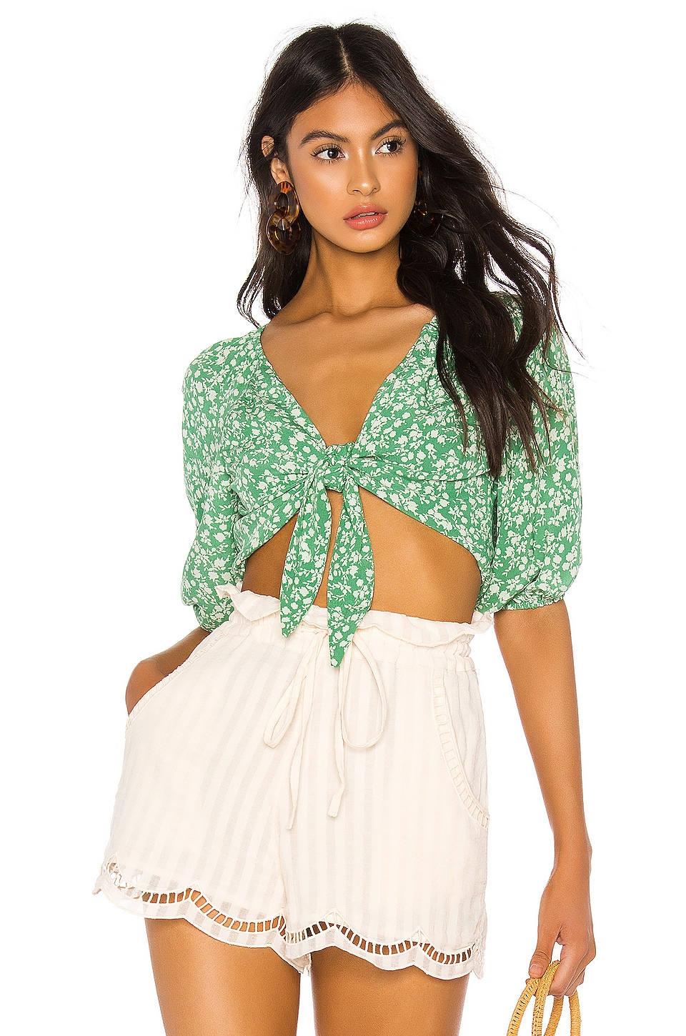 Lovers + Friends Tess Top in Lucky Floral