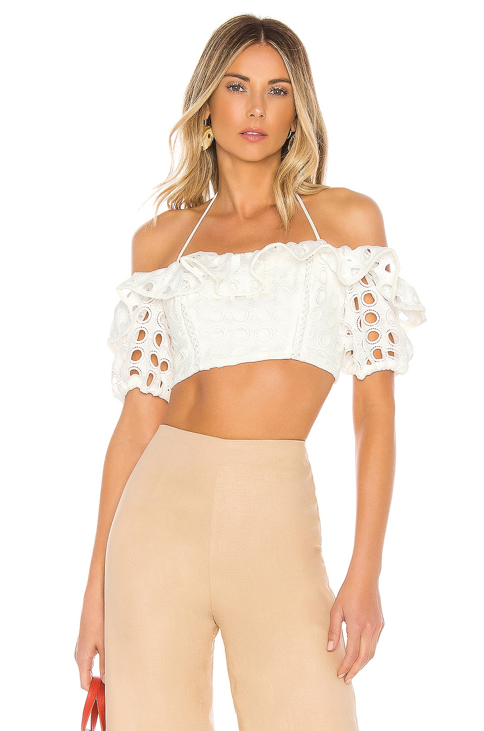 Lovers + Friends Cynthia Top in White