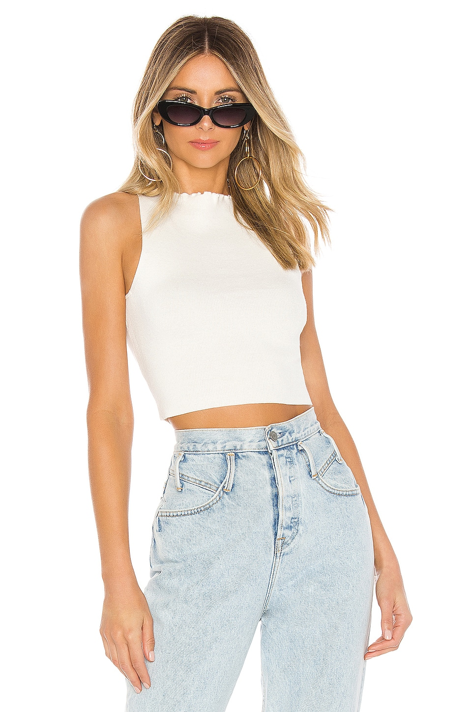 Lovers + Friends Cailey Top in Ivory