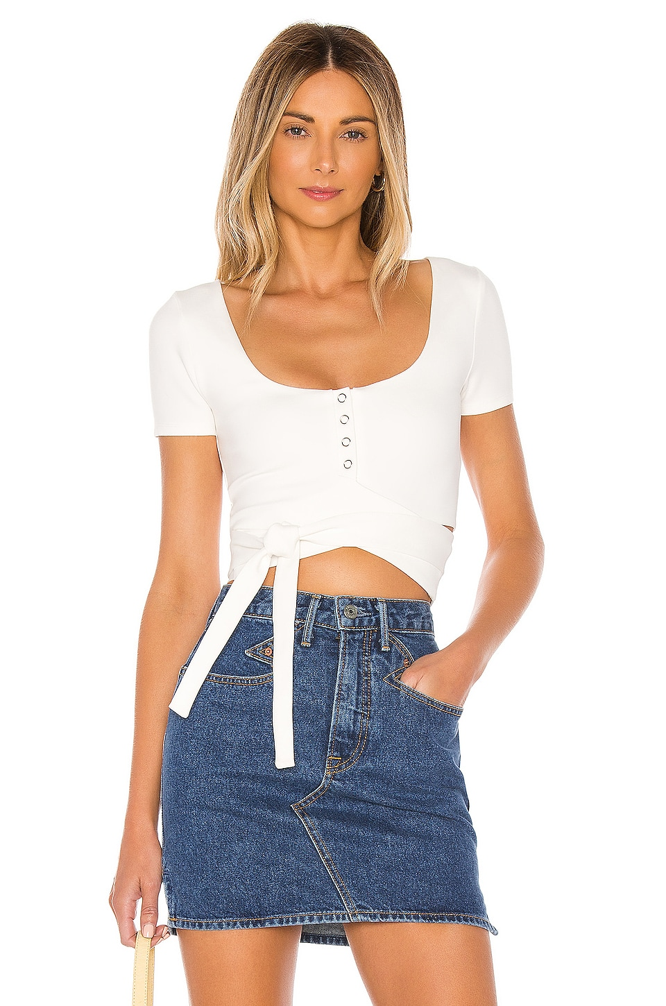 Lovers + Friends Zuri Top in White