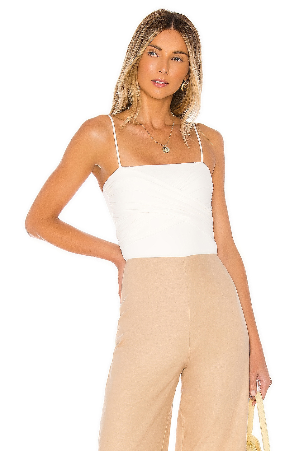 Lovers + Friends Zuri Bodysuit in White