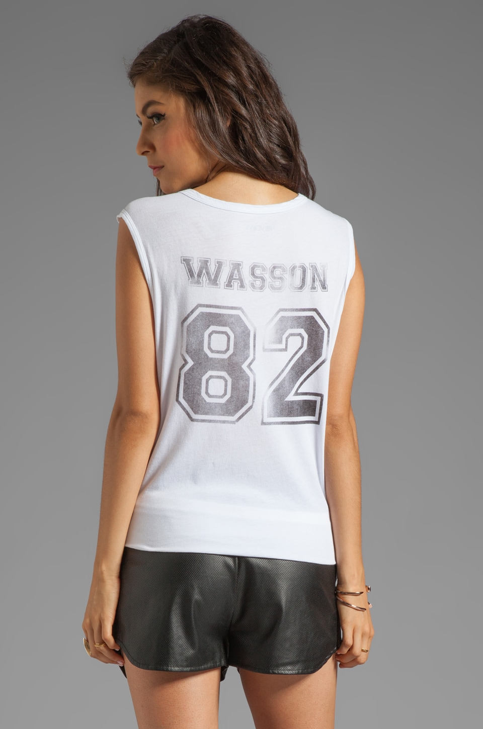 Lovers + Friends for REVOLVE Wasson Muscle Tee in White