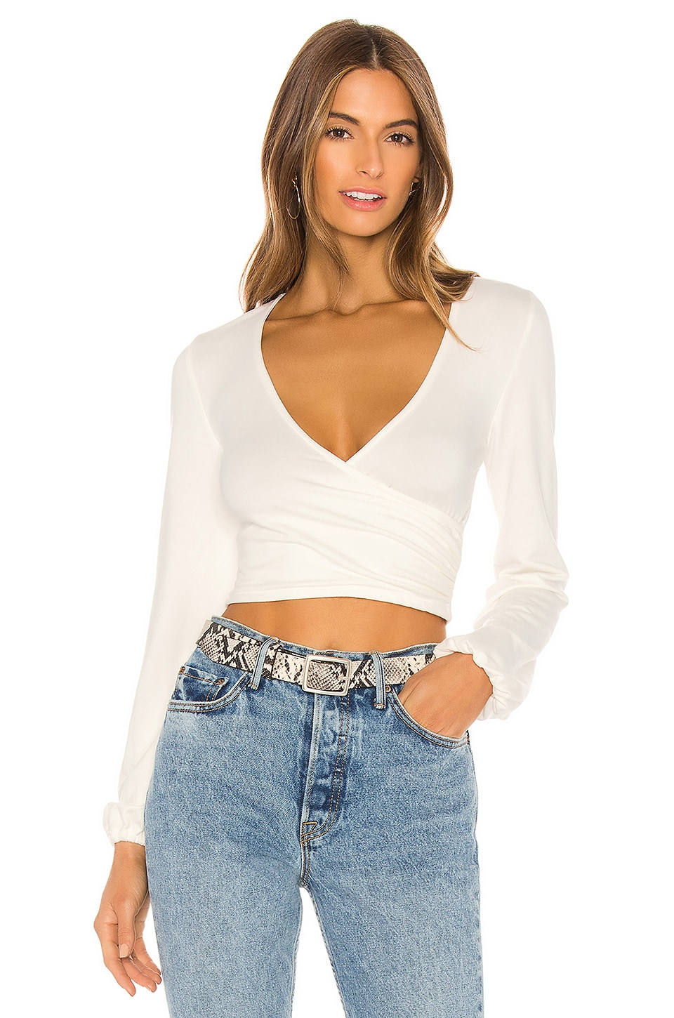 Lovers + Friends Nikkie Top in White