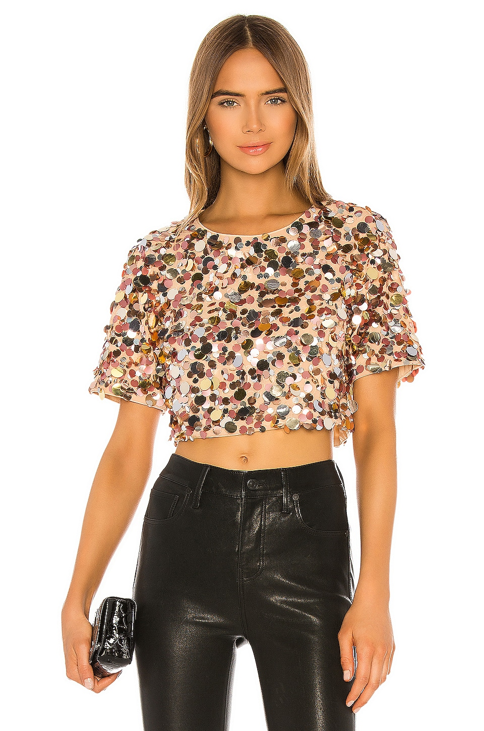 Lovers + Friends Raine Crop Top in Girls Night