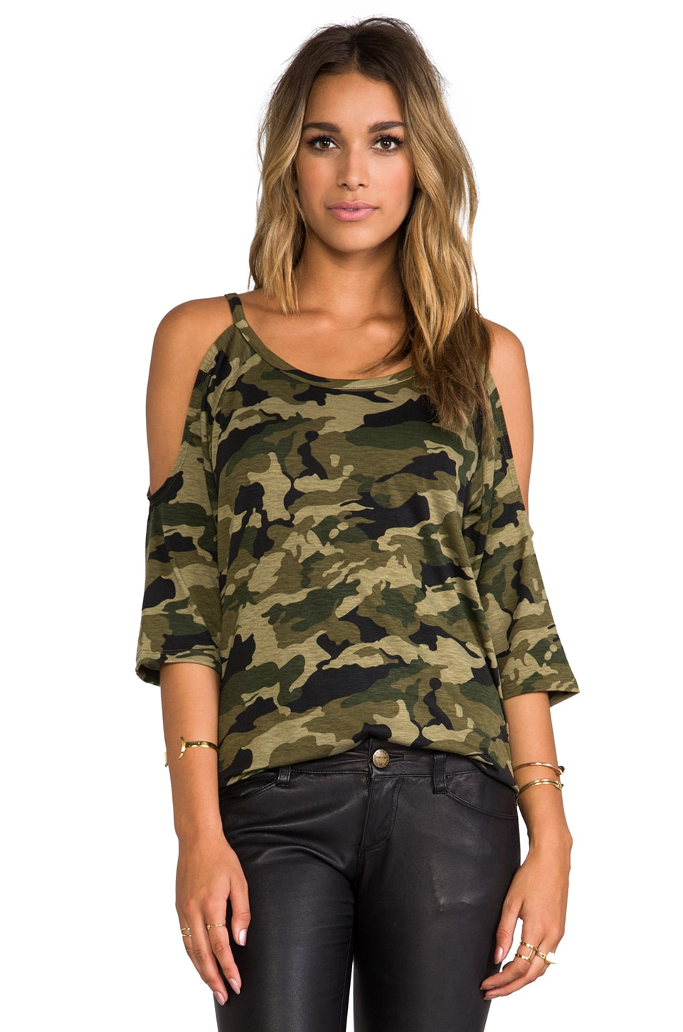 Lovers + Friends for REVOLVE Lizzie Top in Camo