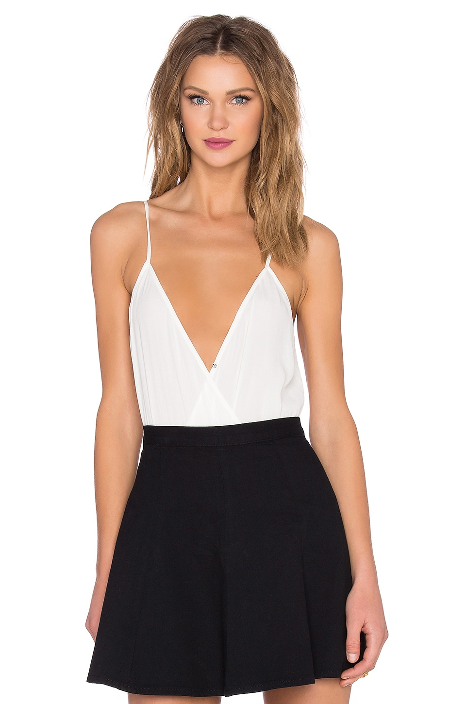 Lovers + Friends Vision Cami Bodysuit in Ivory
