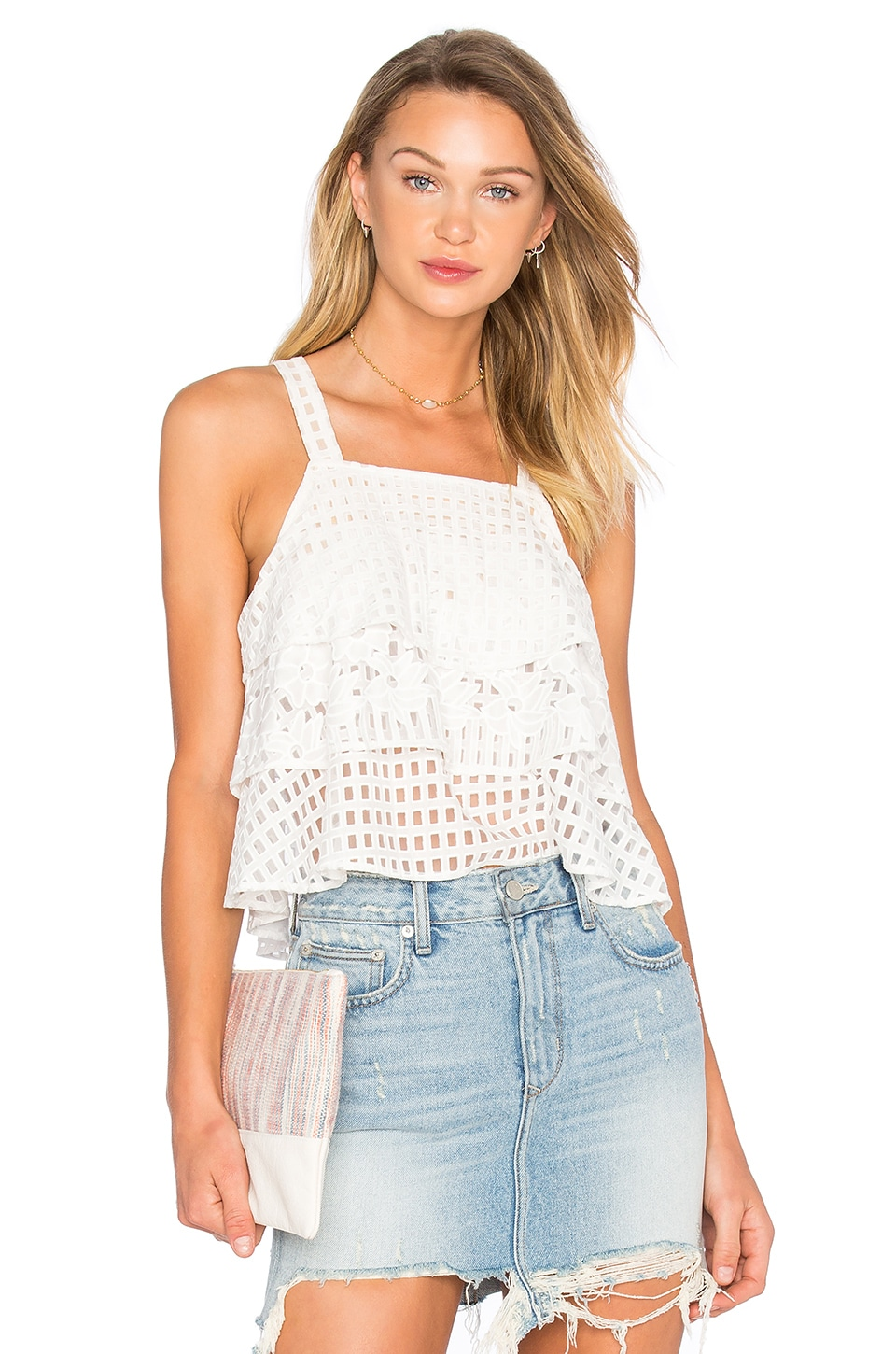 Lovers + Friends Nadia Top in Ivory