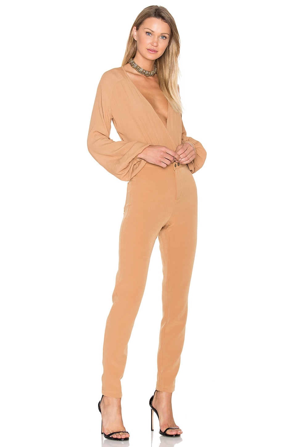 Lovers + Friends x REVOLVE Layla Bodysuit in Camel