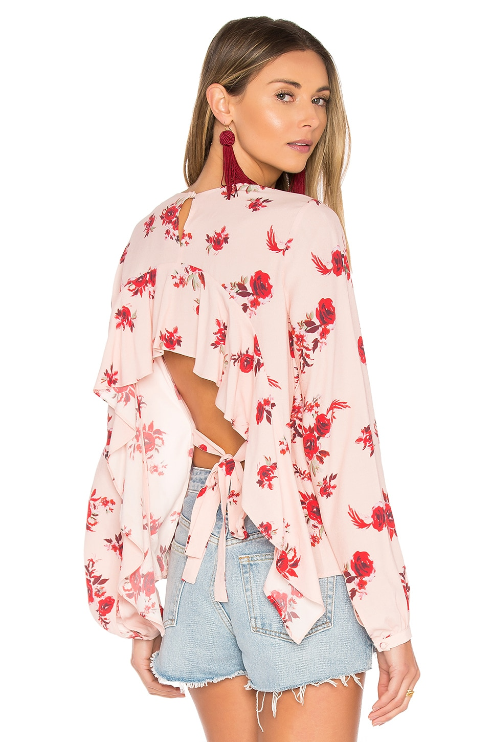 Lovers + Friends x REVOLVE Palisades Top in Blossom Print