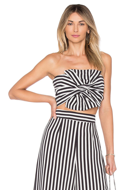 Lovers + Friends Chica Bustier in Bold Stripe