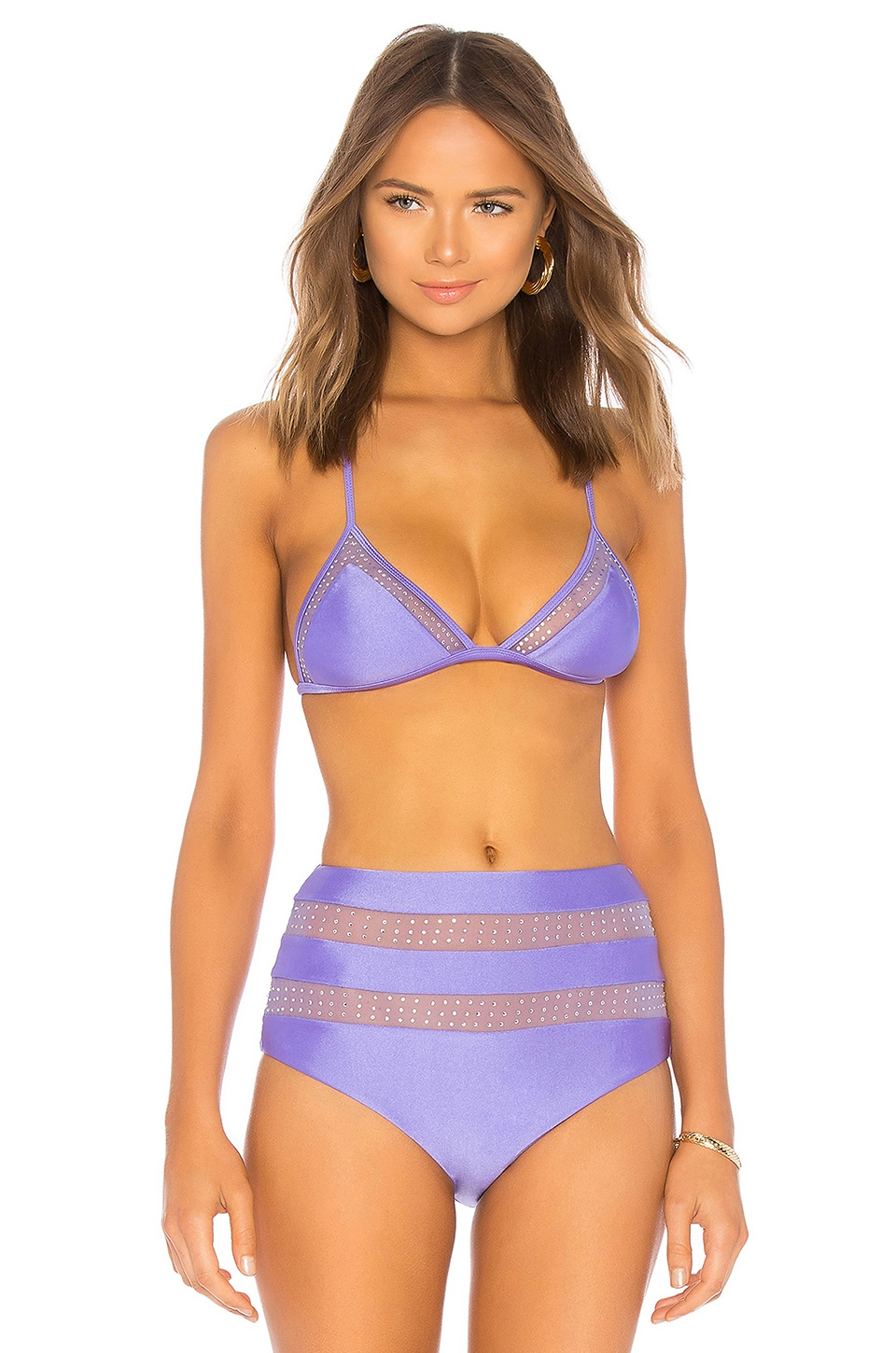 Lovers + Friends Magical Dreams Top in Lilac