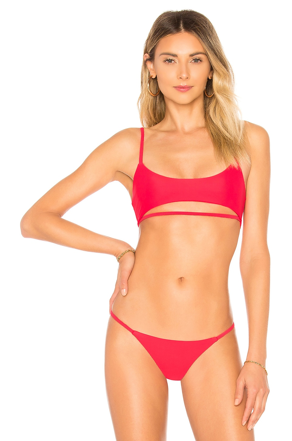 Lovers + Friends See Ya Top in Hot Coral