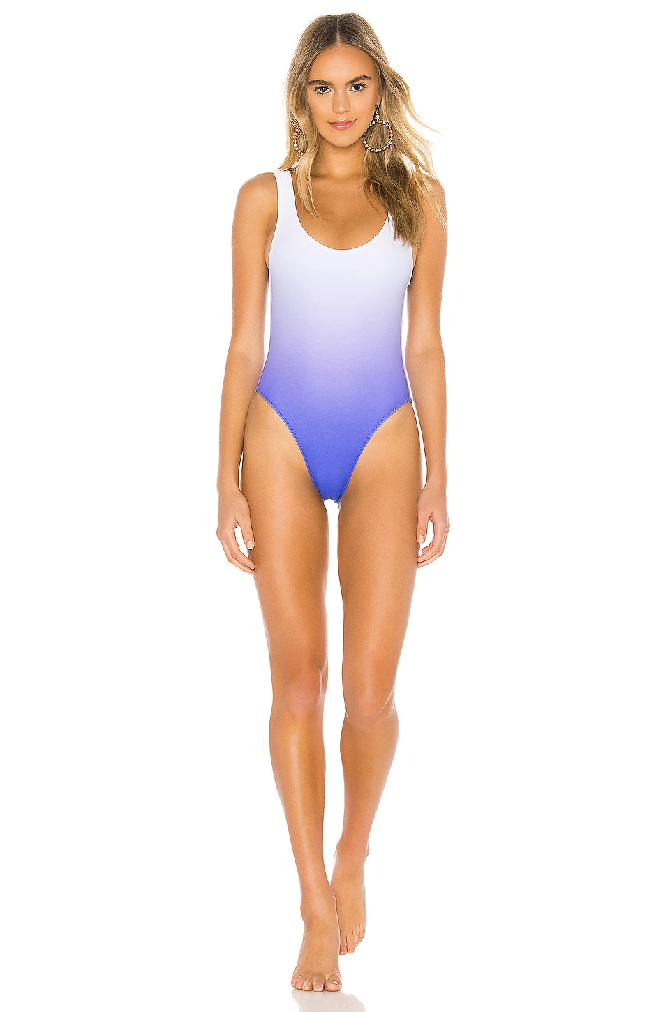 Lovers + Friends Liberty One Piece in Blue Ombre
