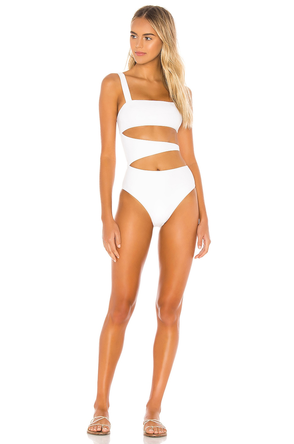 Lovers + Friends Kingsley One Piece in White