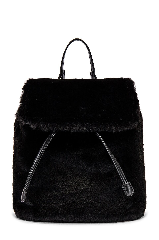 Lovers + Friends Fi Fur Backpack in Black