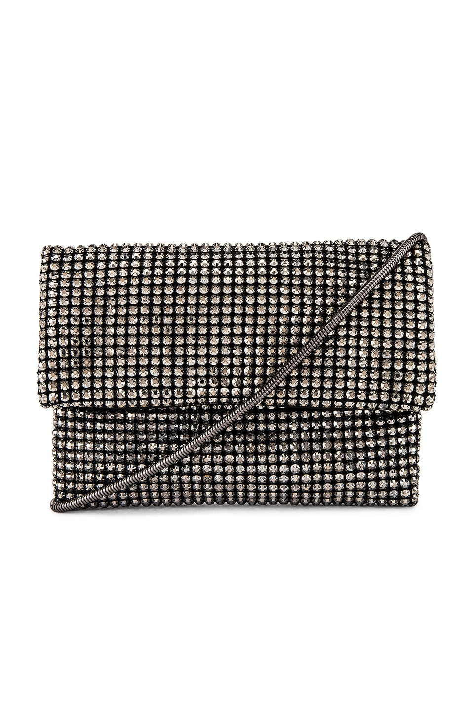 Lovers + Friends Cassie Crossbody Bag in Black Crystal