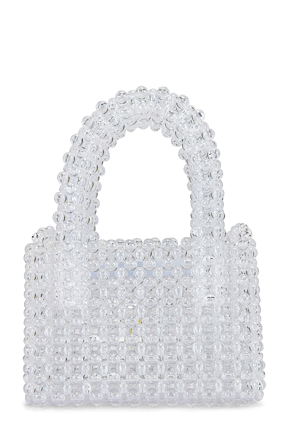 Lovers + Friends Rachel Micro Purse in Clear