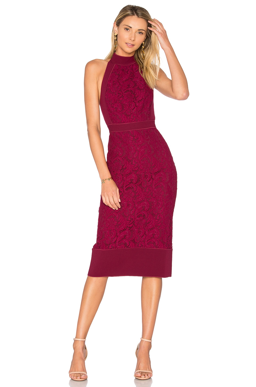 Violet Fitted Halter Dress by Lover