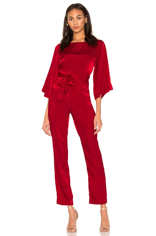 LPA Rosita Jumpsuit in Red