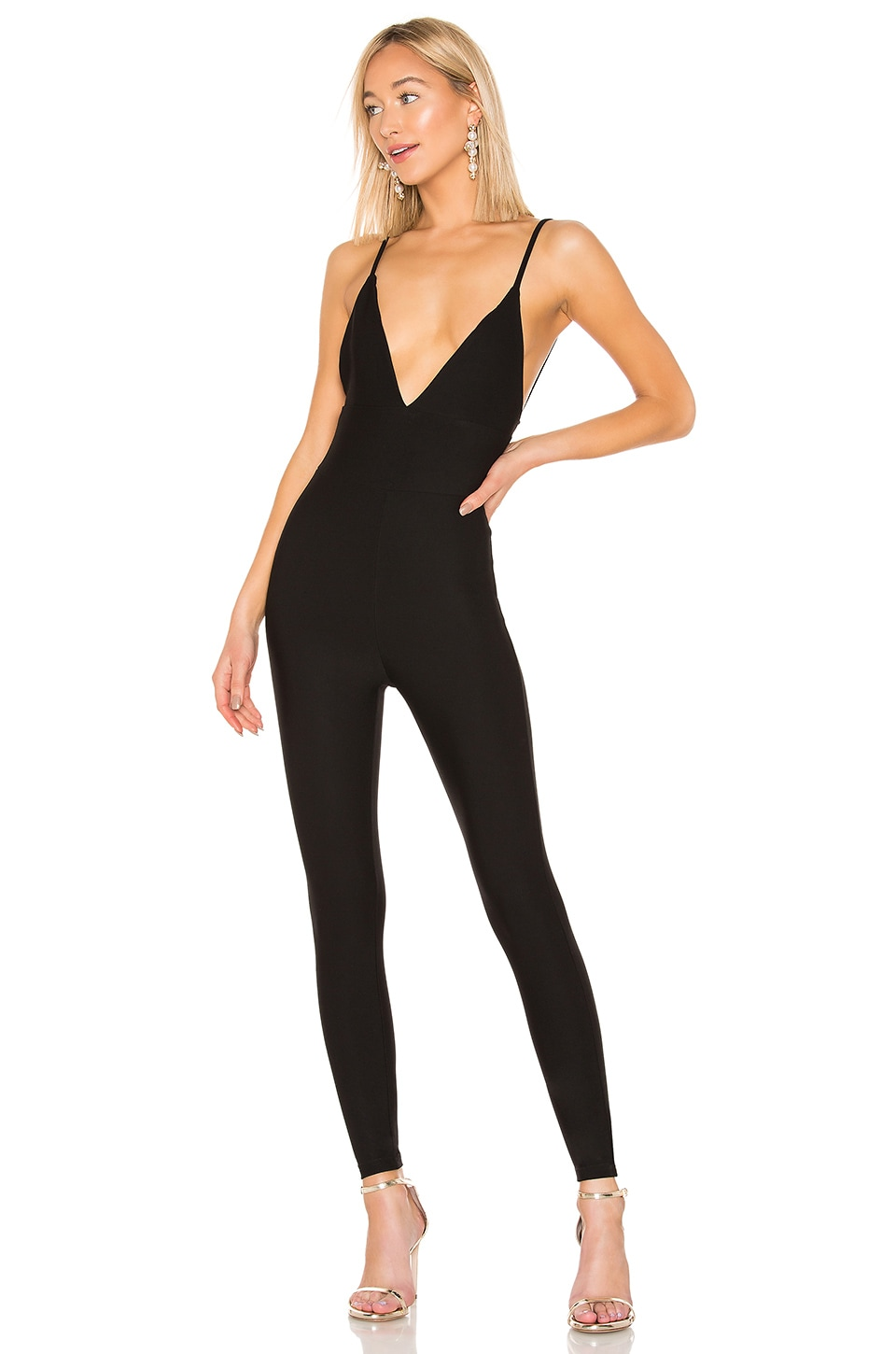 LPA Silvana Jumpsuit in Black