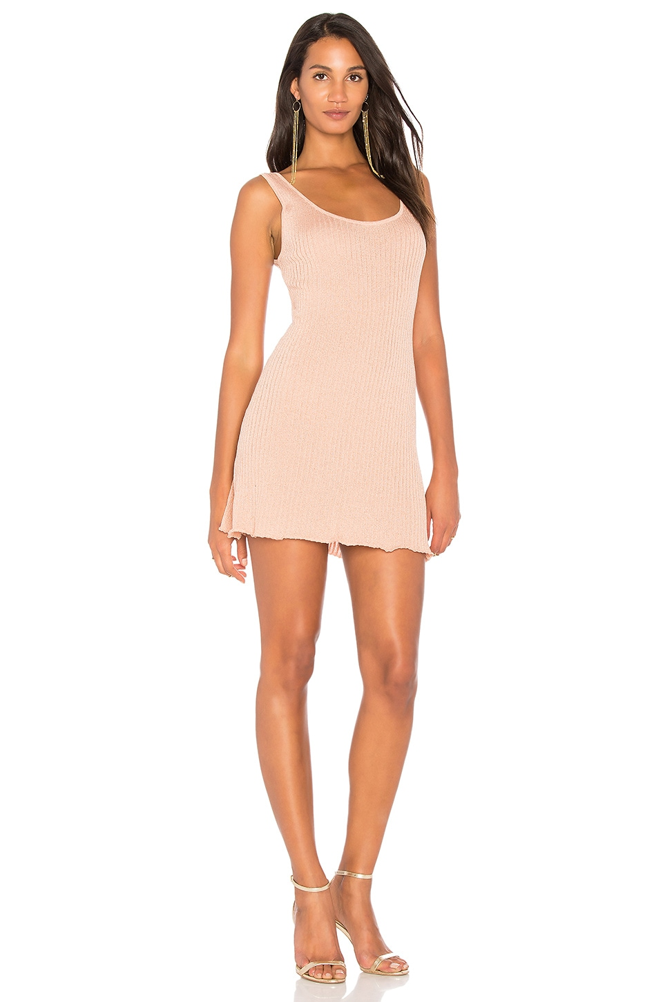 LPA x REVOLVE Dress 295 in Rose Gold