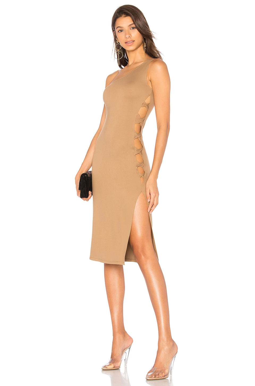 LPA x REVOLVE Dress 571 in Hazelnut