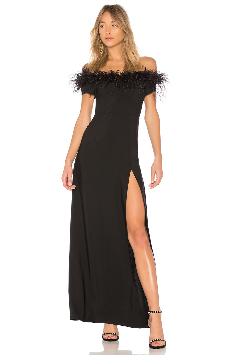 LPA Gown 626 in Black