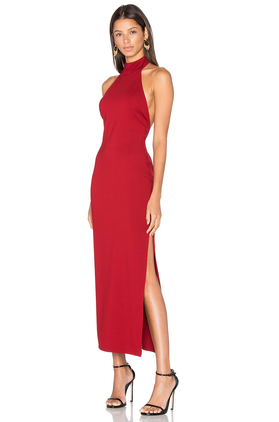 LPA Dress 47 in Oxblood