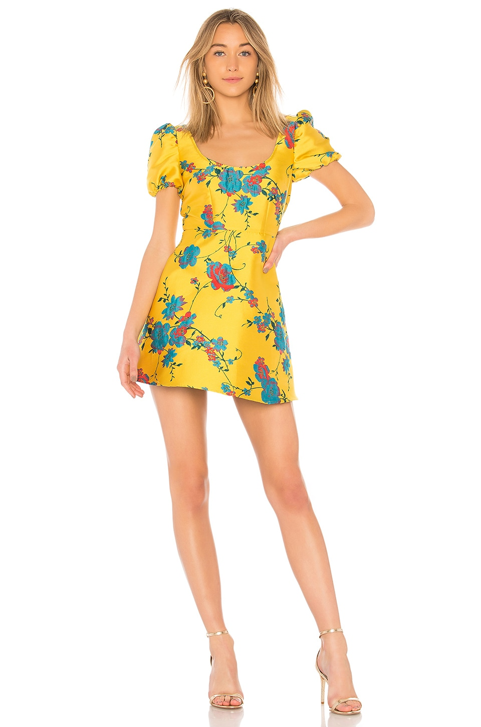 LPA Dress 697 in Canary