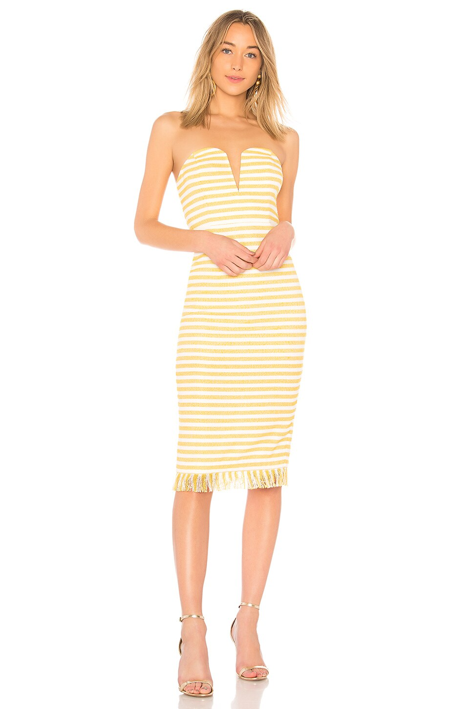 LPA Dress 691 in Creamsicle